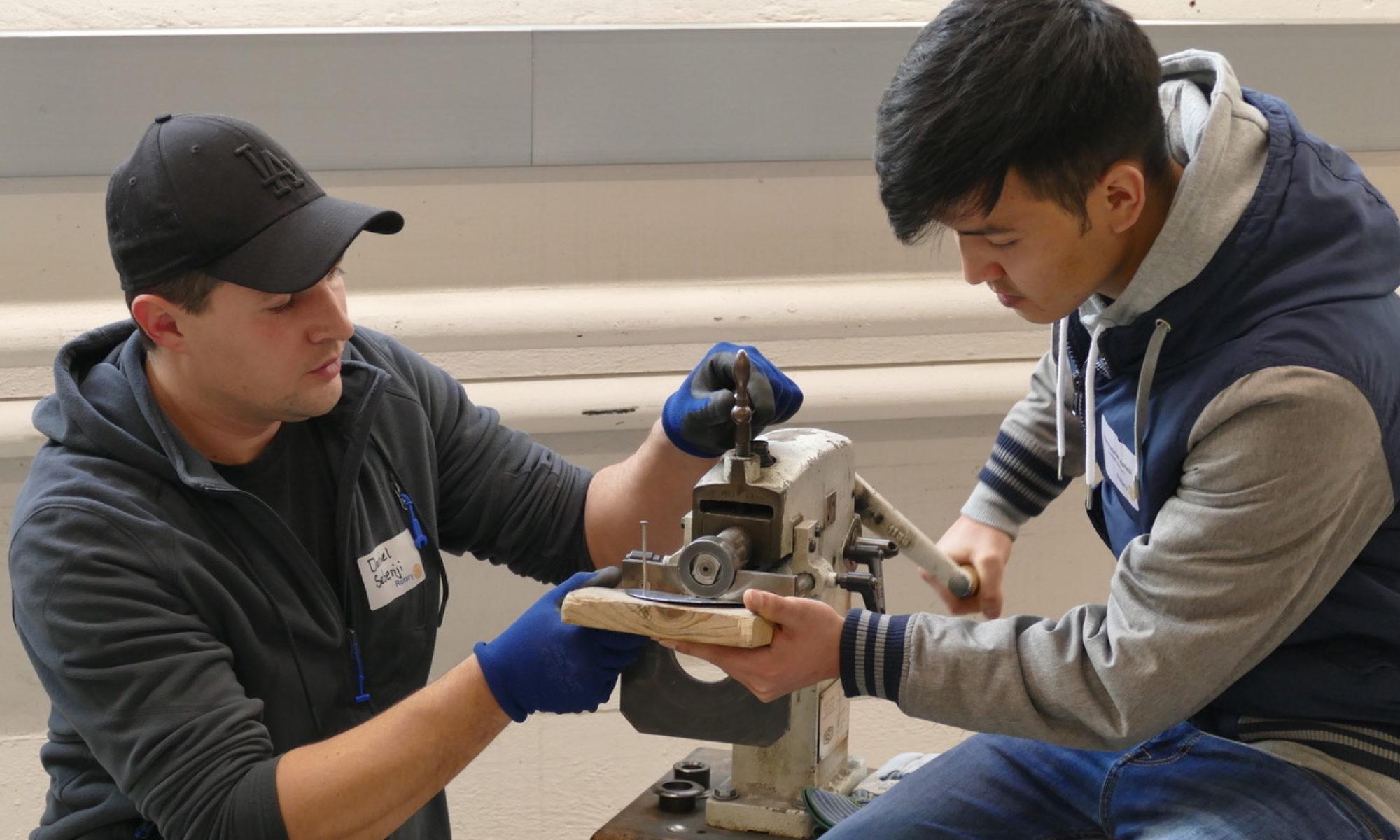 Rotarier für die Berufliche Integration Jugendlicher